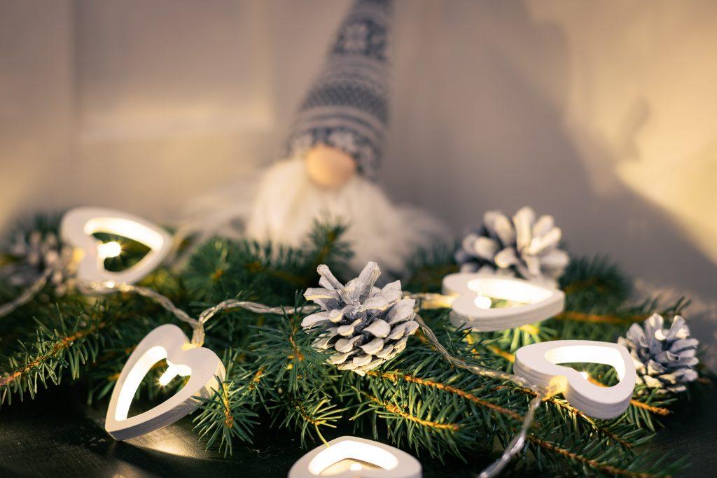 Jouluvalot tuovat ihanasti joulun tunnelmaa.