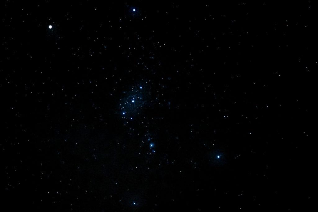 Orionin tähdistö.