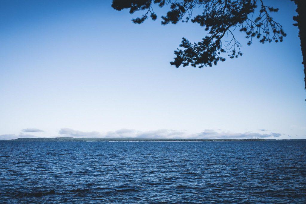 Oulujärven maisemaa.