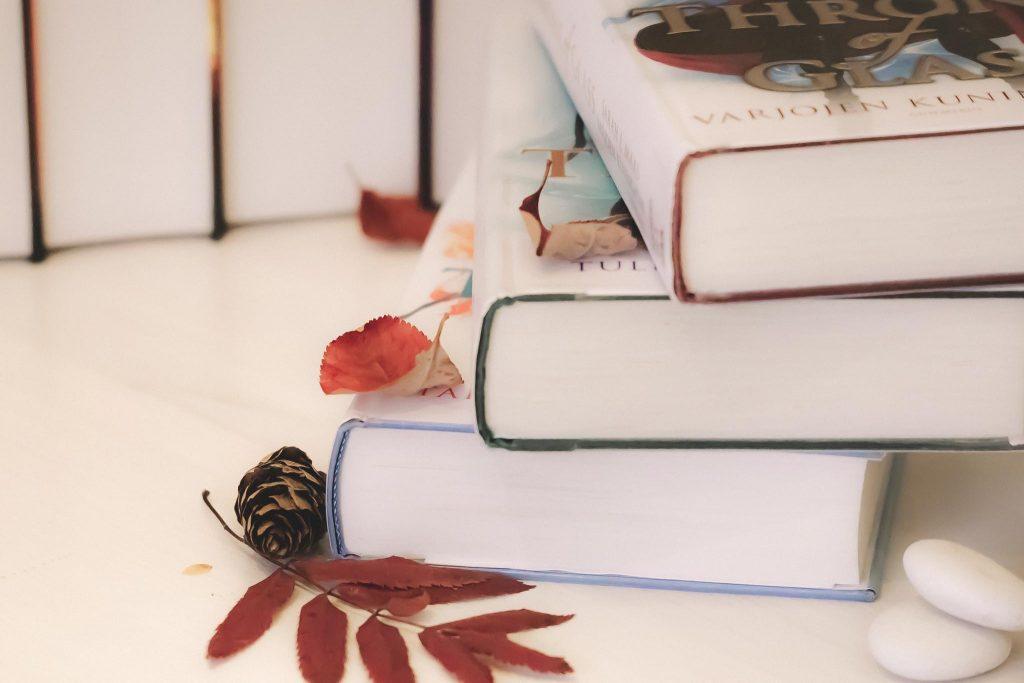 Bookstagram kirjakuva.