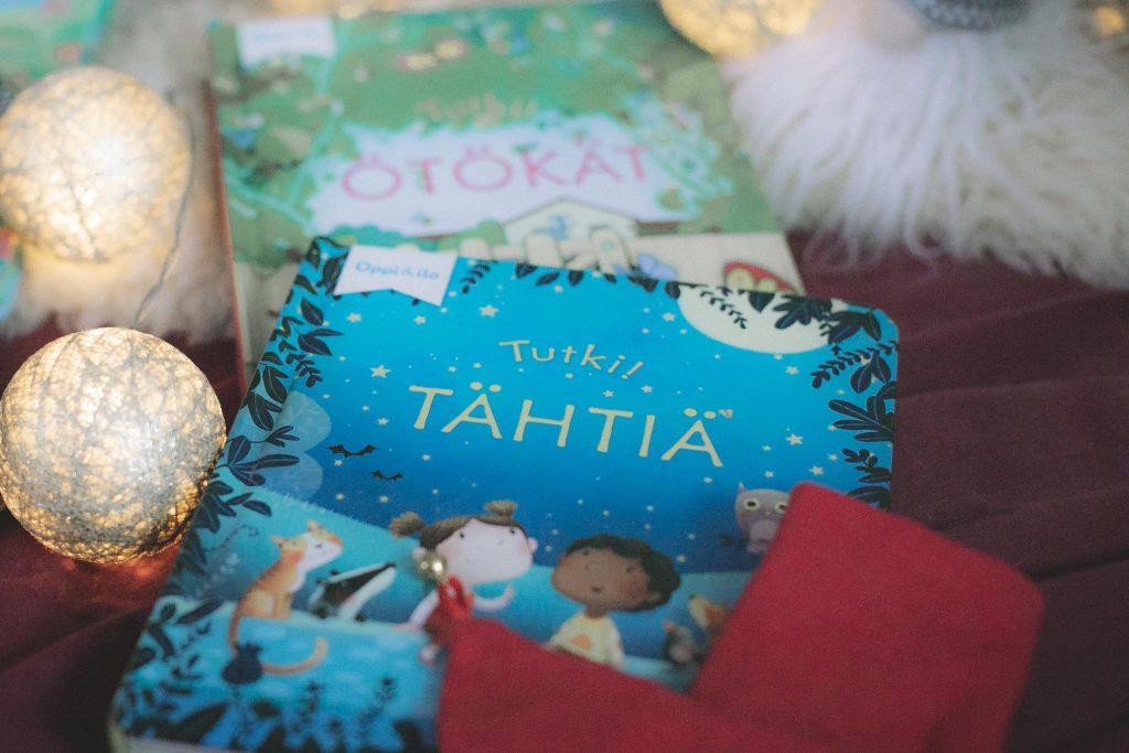 Tutki tähtiä kirja joululahja vinkiksi.