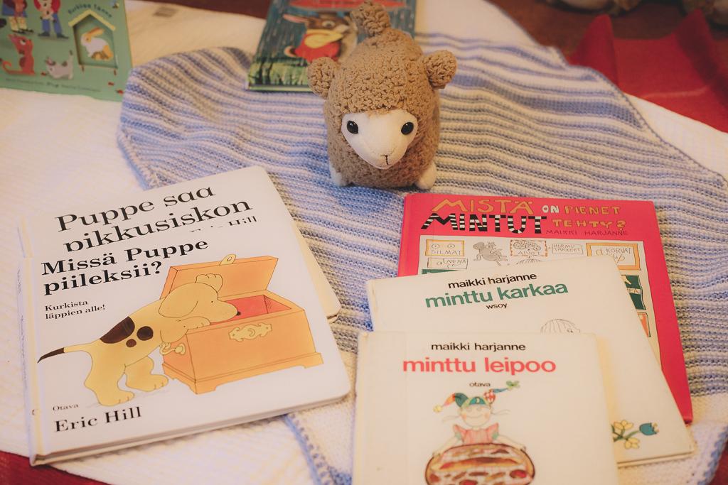 Puppe ja MInttu kirja joululahjavinkiksi.