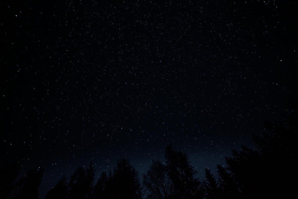 Tähtitaivas.