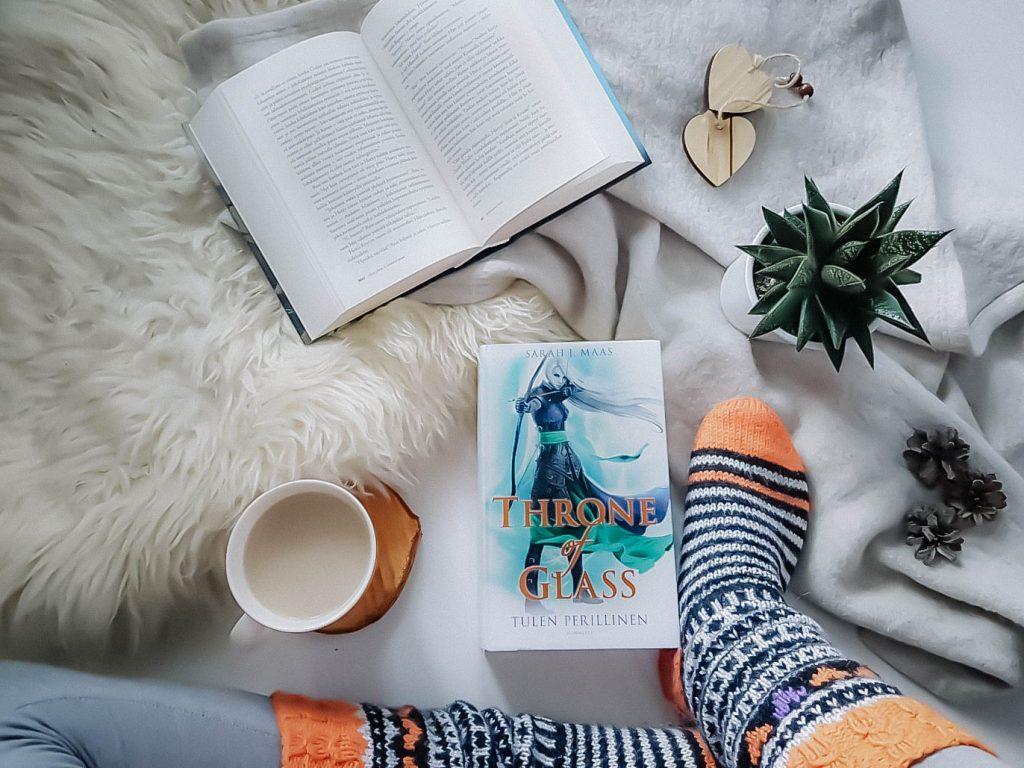Bookstagram-kirjakuva.