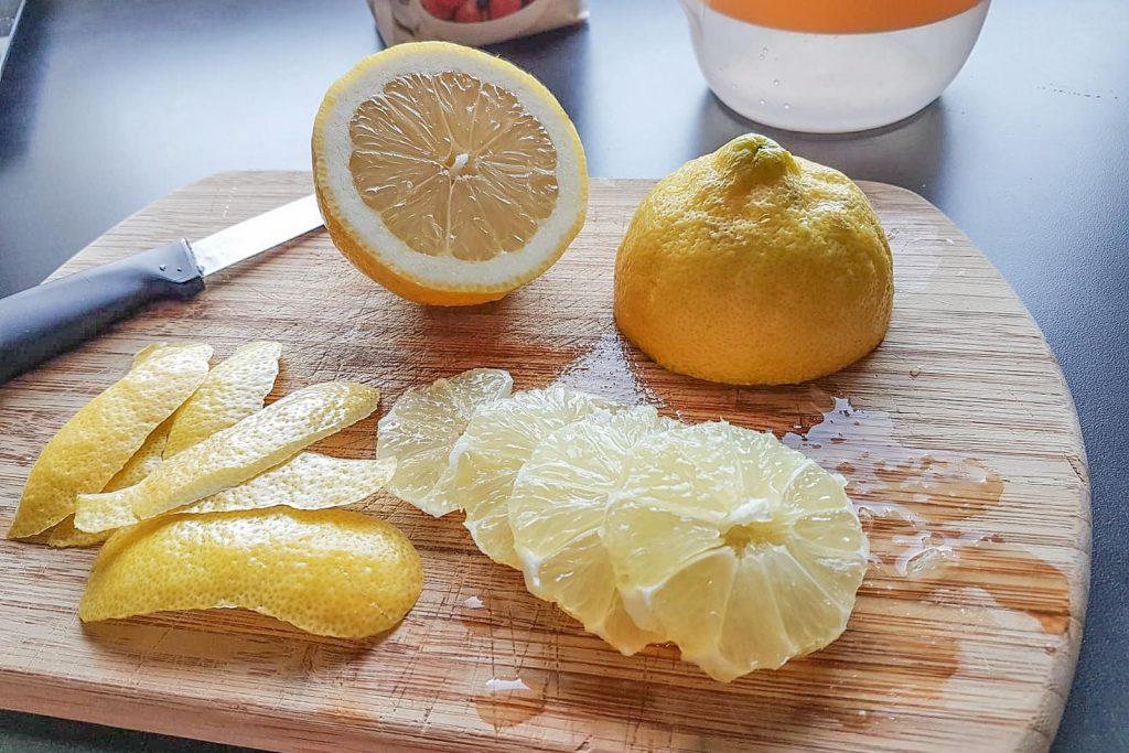 Vappusimaa ja sitruunoita.