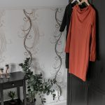 Ekologisten vaatteiden ostaminen.